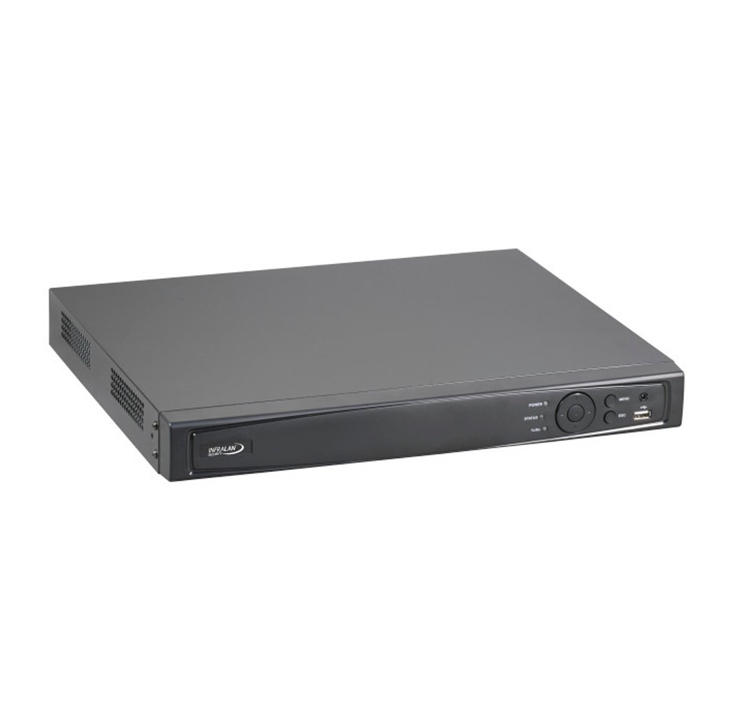 INFRALAN®-Security-IP-Recorder-4x-PoE-Interfaces